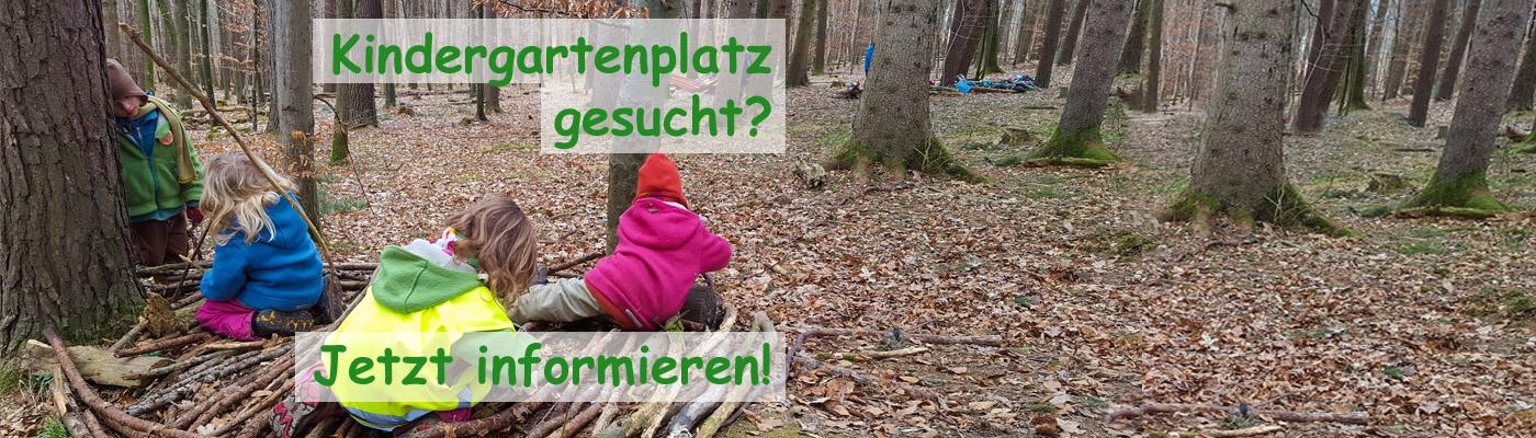 Auf der Suche nach einem Kindergartenplatz im Waldkindergarten Reutlingen